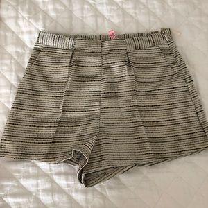 Stripe shorts